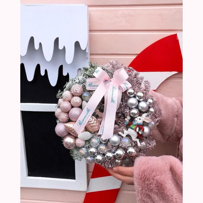 Рождественский веночек Алисы