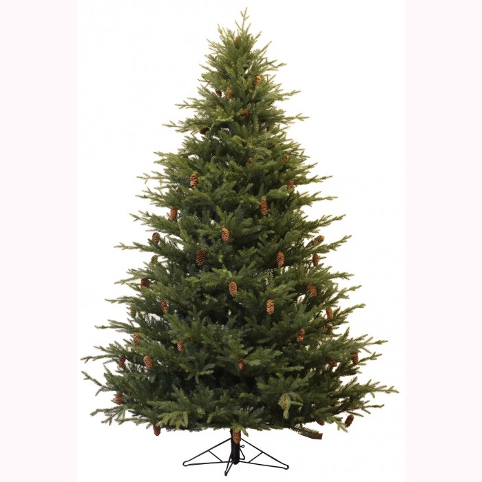 Fir tree w/cones 2,25m