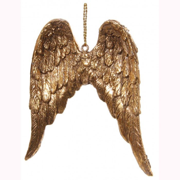 Angel wing gold 9cm