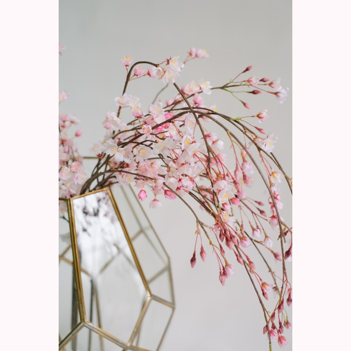 Cherry blossom hanging pink h100cm