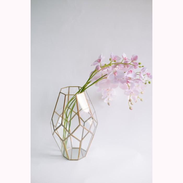 Phalaenopsis x2 lt pink h100cm